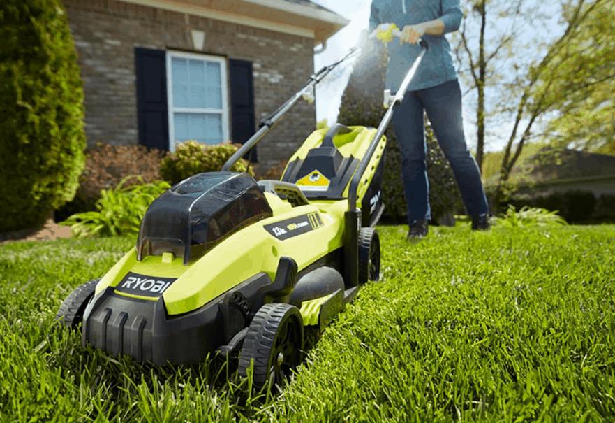 Ryobi 13 inch Battery Powered Lawn Mower