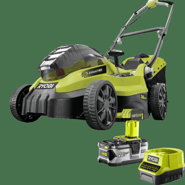 Ryobi 18V Battery Powered Lawn Mower Kit