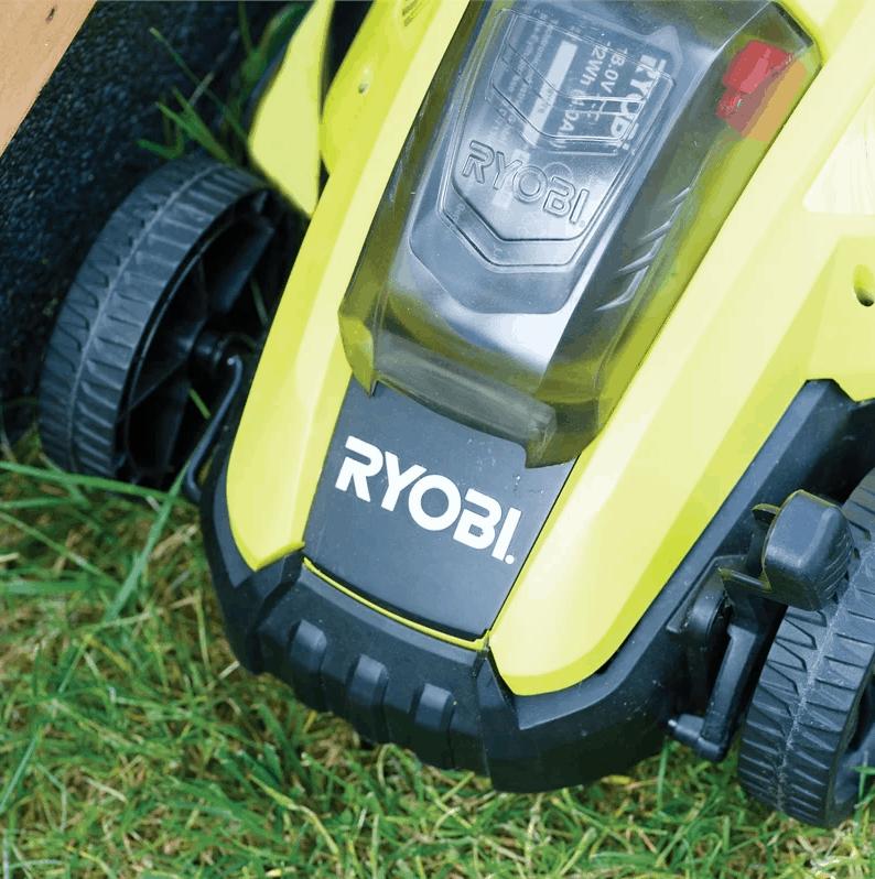 Ryobi Cordless Battery Powered Lawnmower - Key