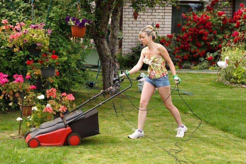 Electric Corded Lawn Mower