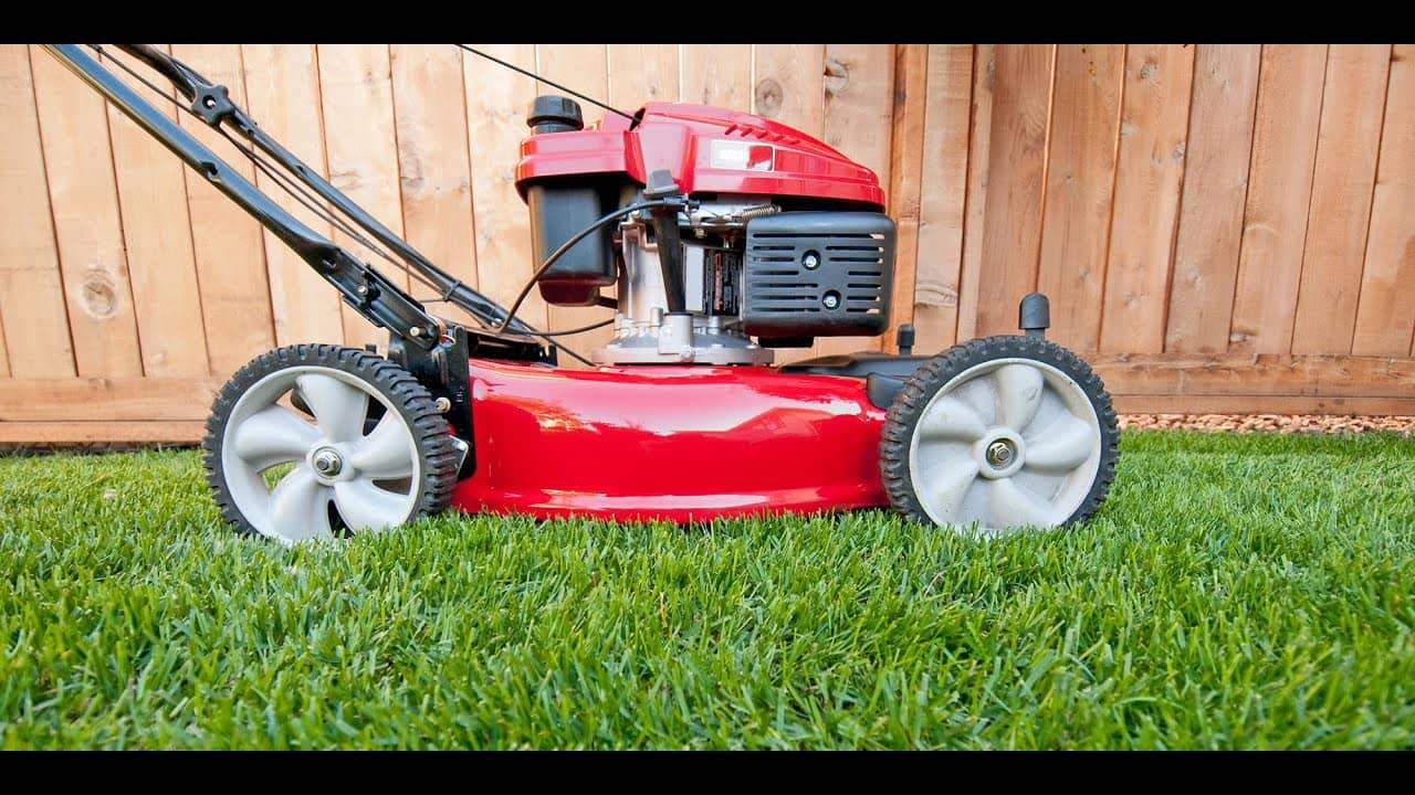 Fuel Powered Lawn Mower
