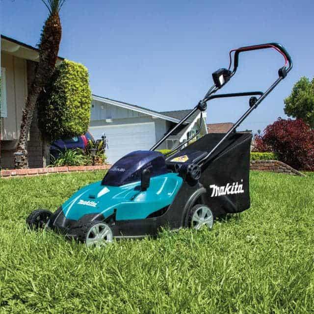 Makita Battery Powered Lawn Mower