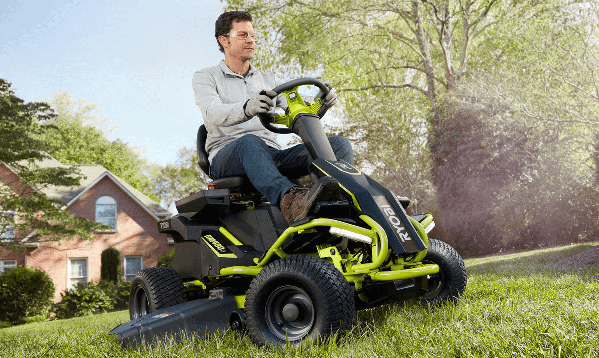 Ryobi Battery Powered Ride On