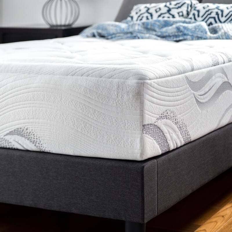Zinus 12 inch cloud memory foam mattress