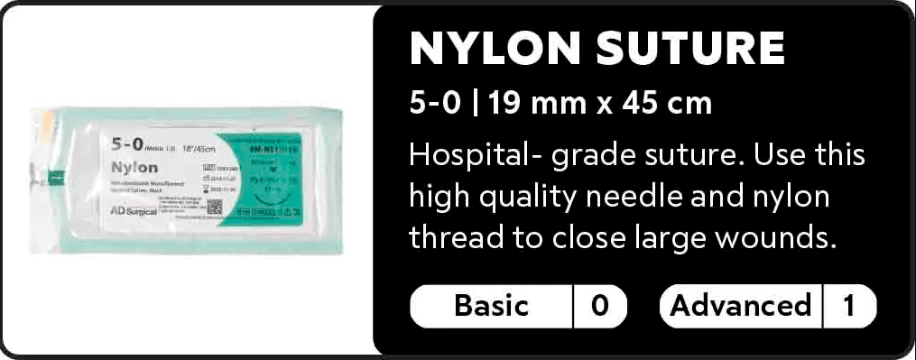 Nylon Suture 5.0