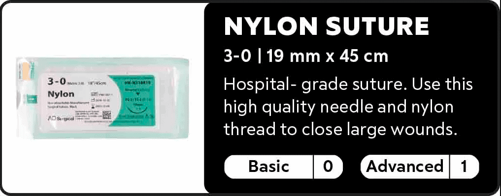 Nylon Suture 3.0