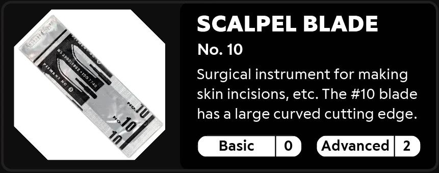 Scalpel Blade No.10