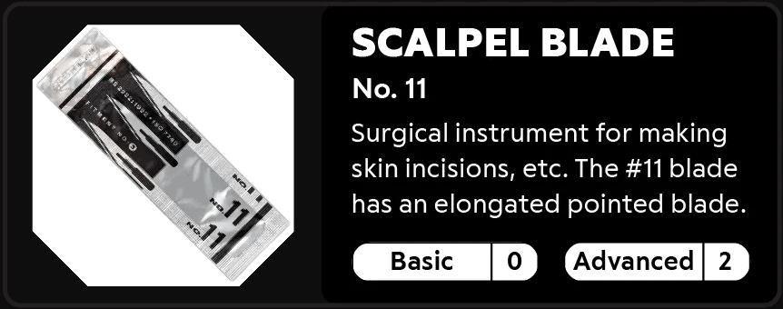 Scalpel Blade No.11