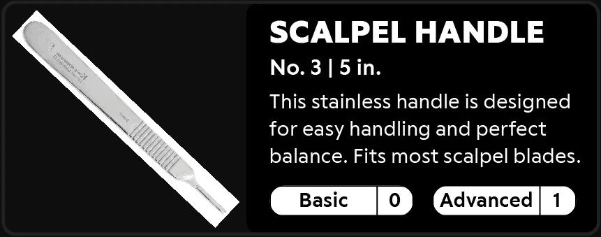 Scalpel Handle