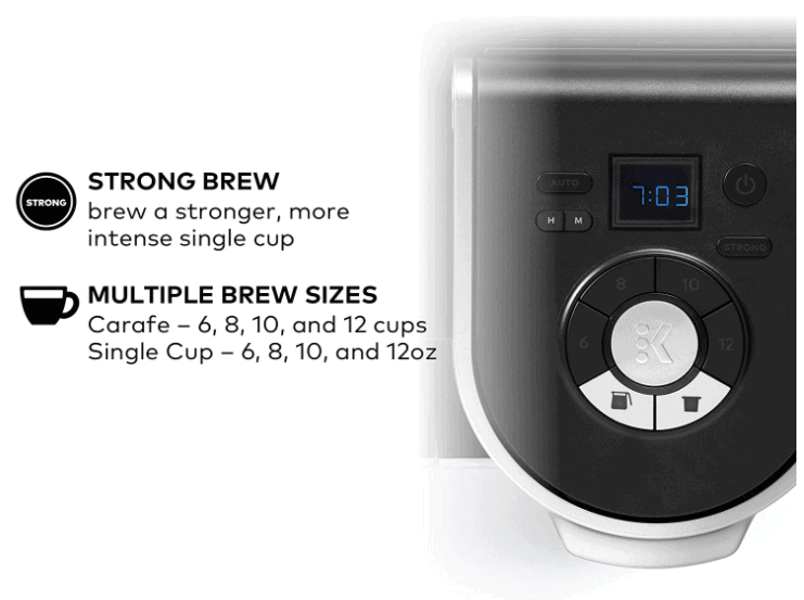 Coffee Brewer Buttons