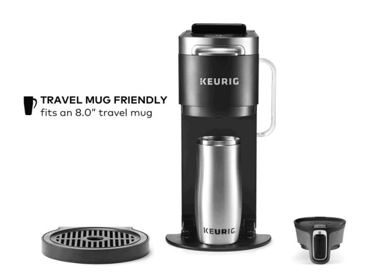 K-Duo Plus - Travel Mug Friendly