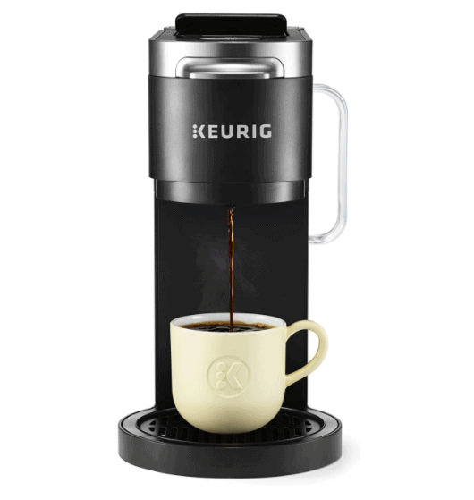 K-Duo Plus with single coffee cup