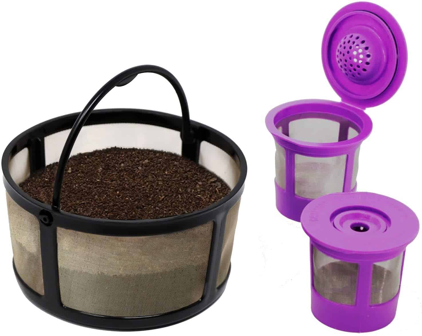 K-Duo Reuseable Mesh Carafe Filter and Reuseable K-Cups