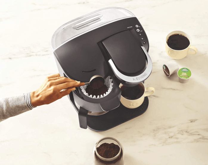 K-Duo - Use Ground Coffee or K-Cup Pods