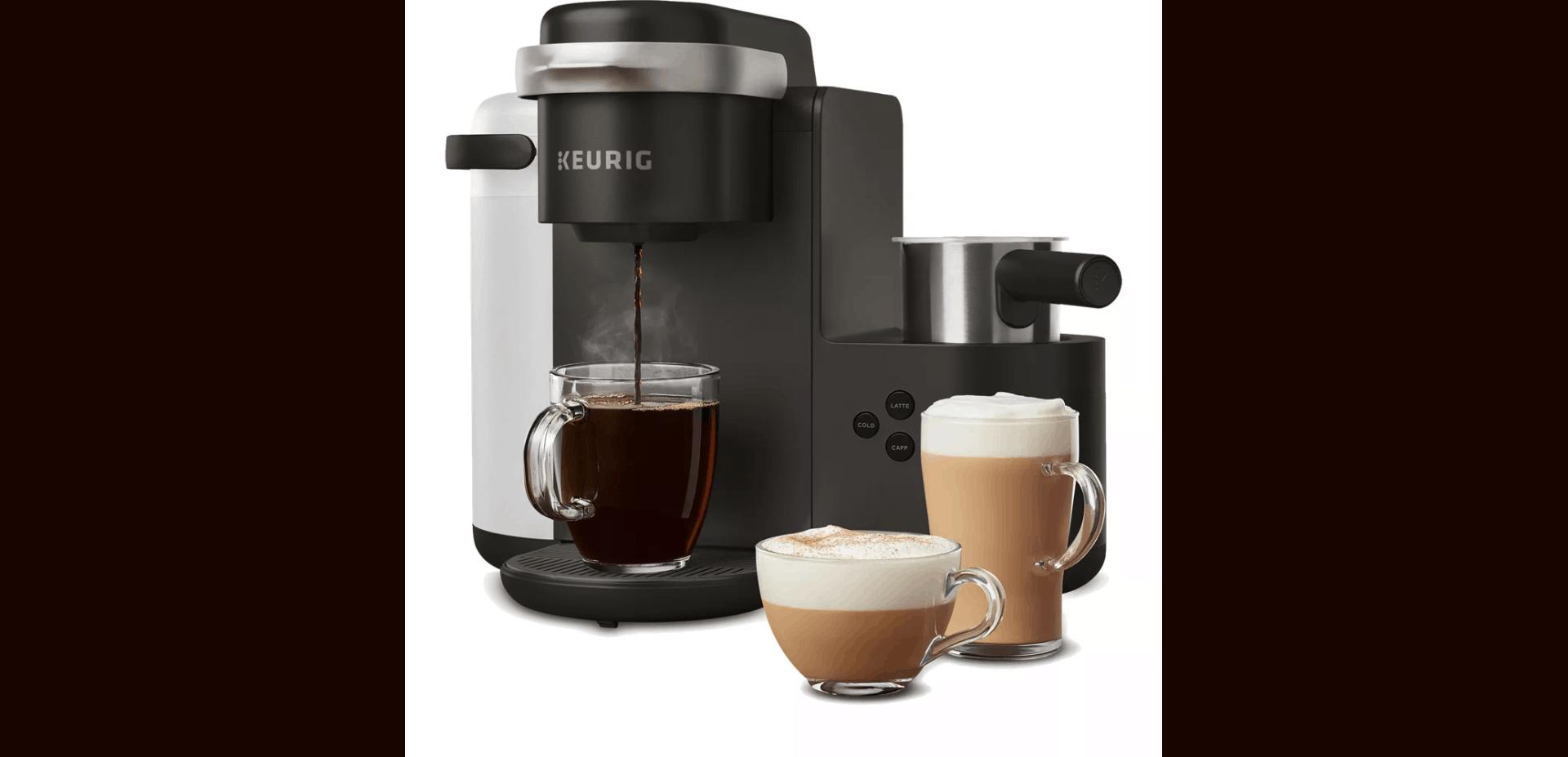 Keurig K-Cafe Black Single Serve Coffee Machine
