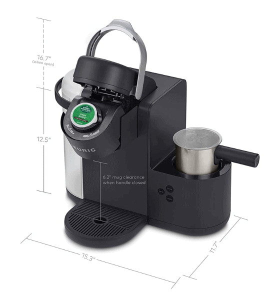 Coffee Machine Dimensions