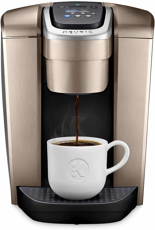 Keurig K-Elite Coffee Machine - Brushed Gold