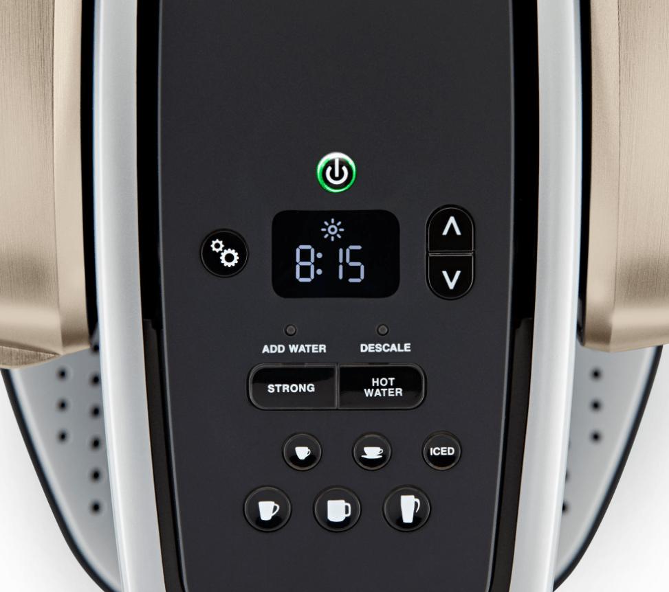 Keurig K-Elite Coffee Maker Controls