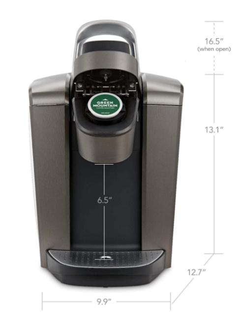 Keurig K-Elite Coffee Maker - Dimensions Image