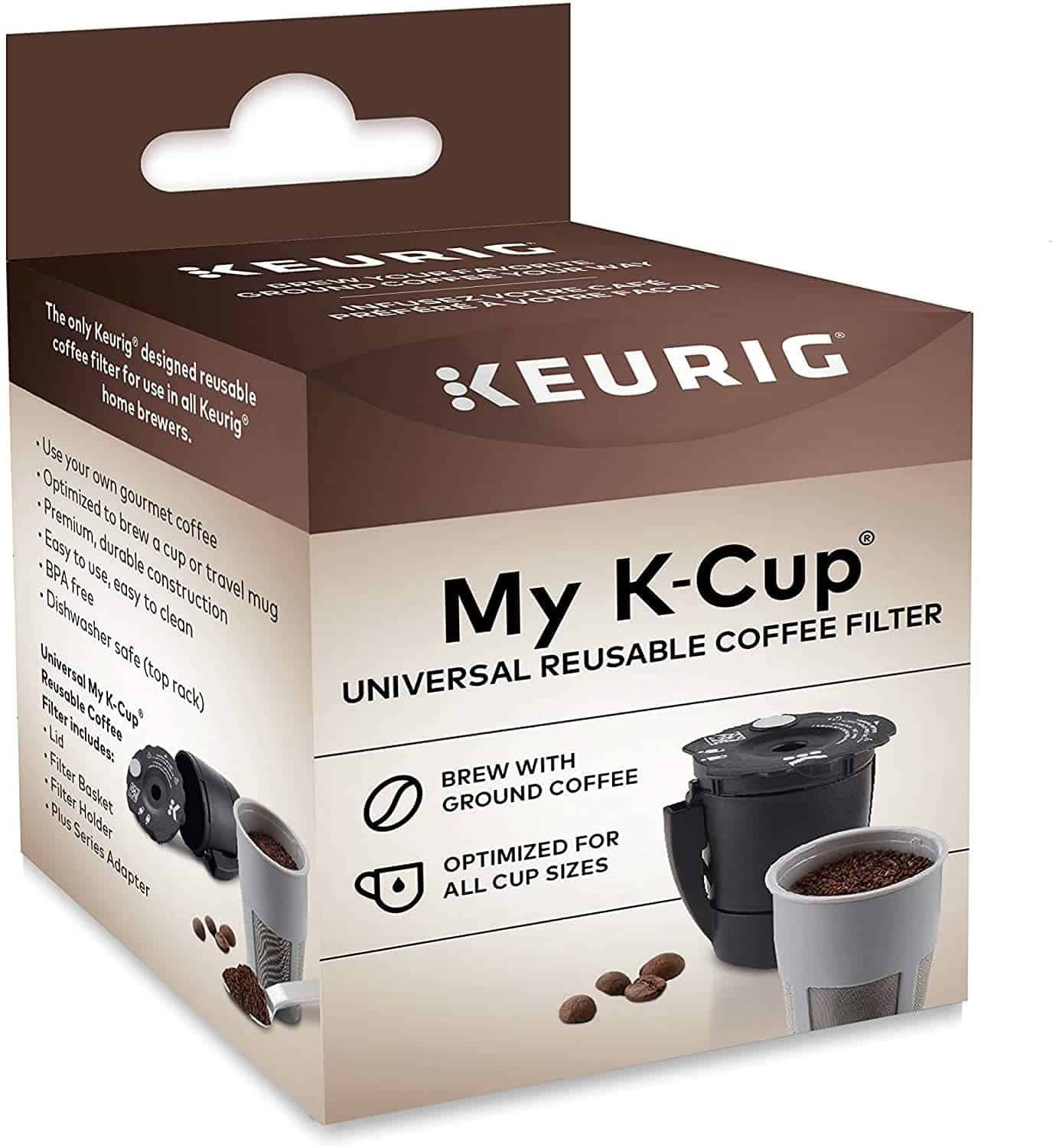 My K-Cup Reusable Coffee Cup Filters