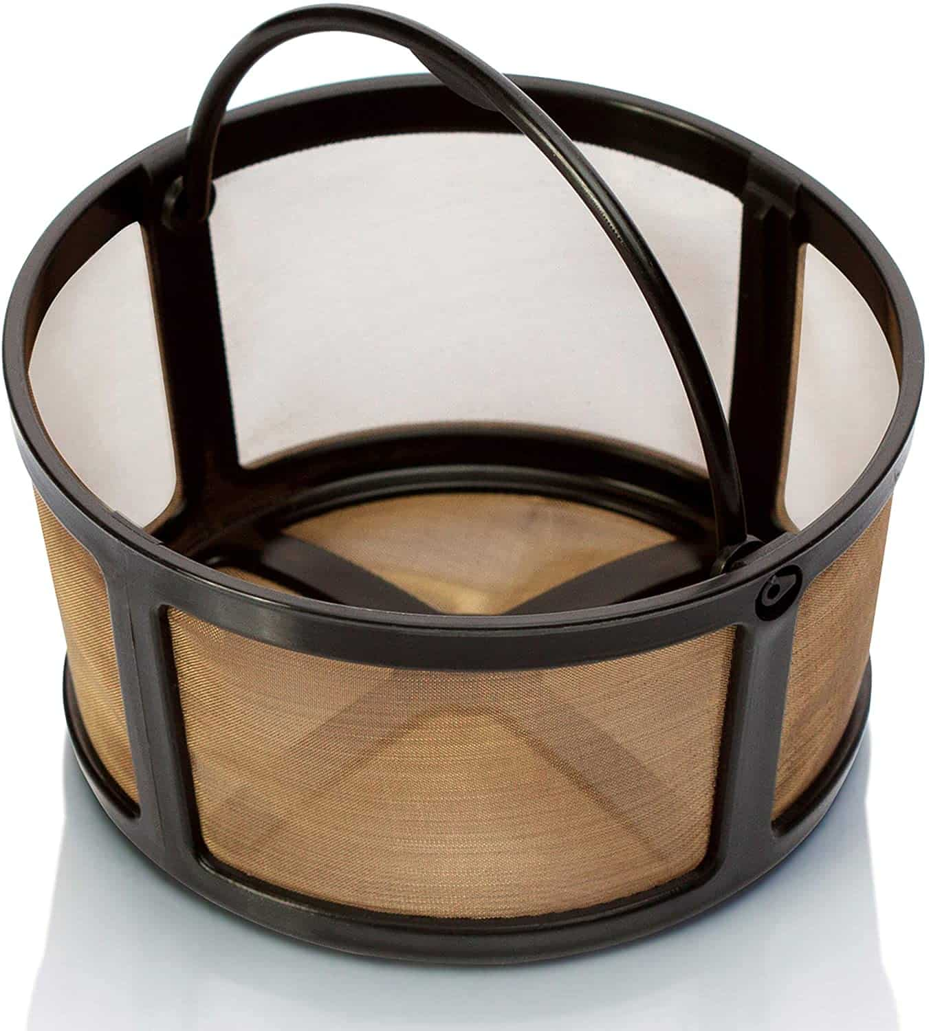 Reuseable Gold Mesh Coffee Filter - K-Duo