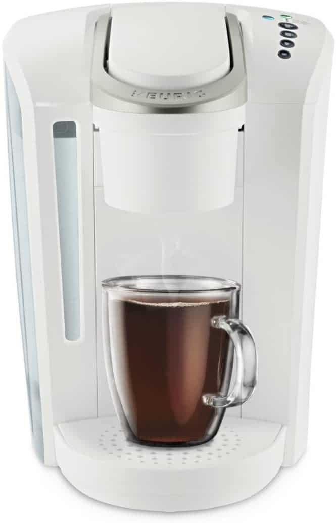 White K-Select Coffee Maker