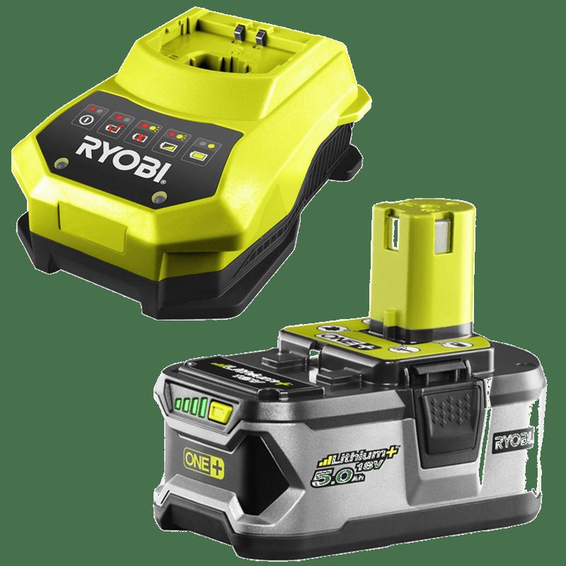 Ryobi 18v battery and charger